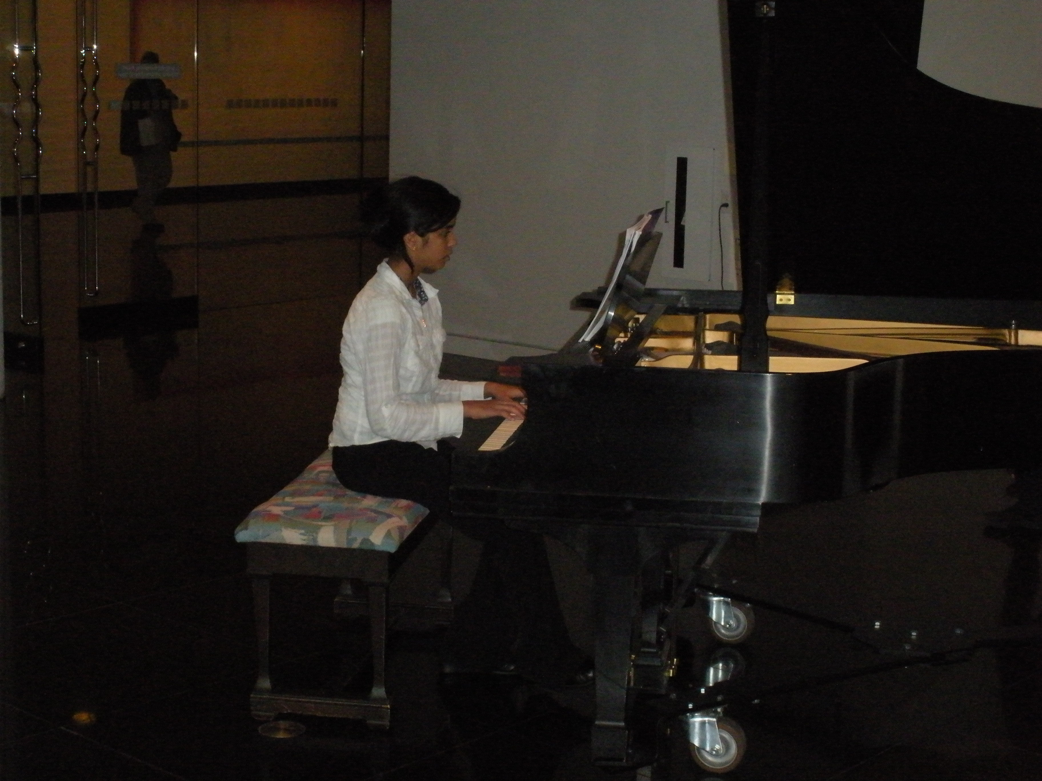 how to get over stage fright when playing piano